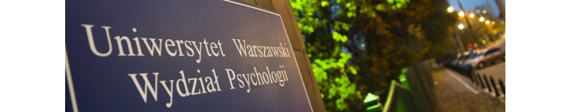 Lista osób przyjętych na studia podyplomowe Psychologia Transportu